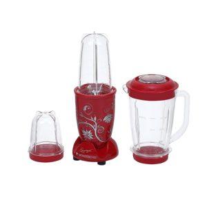 Wonderchef 3 Jar 400 Watt Nutri Blend(Red)