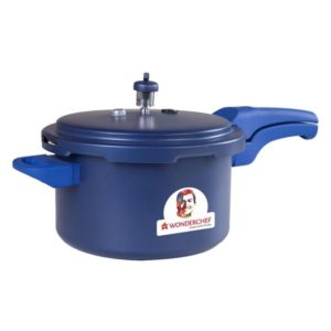 Wonderchef Health Guard Pressure Cooker 5 ltr Blue