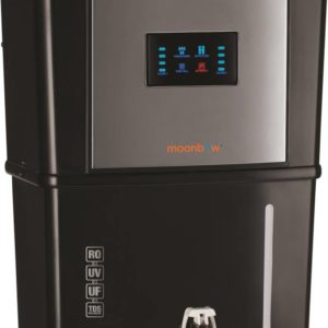 Moonbow Achelous 9 L RO + UV + UF + TDS Water Purifier  (Black)